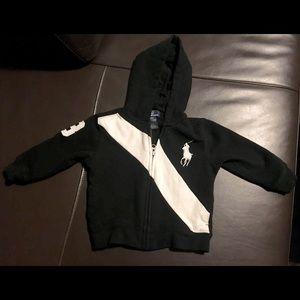 Baby Polo Ralph Lauren zip up hoodie